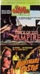TRACK OF THE VAMPIRE (1966)/NIGHTMARE CASTLE (1965) - VHS