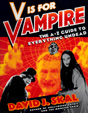 """V"" IS FOR ""VAMPIRE"" - Softcover Autographed Book"